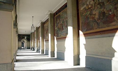 Bayerische Schlösserverwaltung Residenz München Hofgarten Die