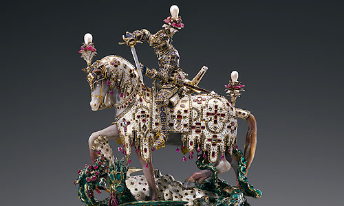 Picture: Statuette of St George