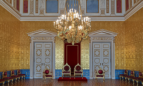 Picture: The Throne Room of the queen