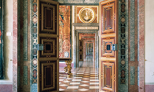 Picture: Enfilade of the Stone Rooms