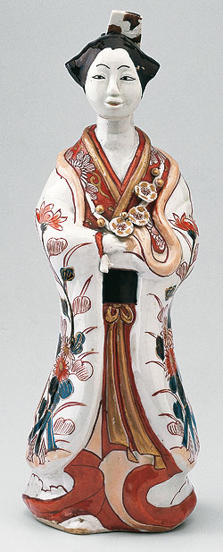 Picture: Porcelain figure of a young woman from the East Asia Collection