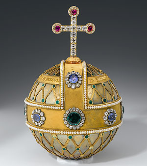 Picture: Imperial orb of the kings of Bavaria, Treasury